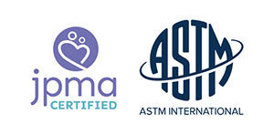 JPMA and ASTM Certified